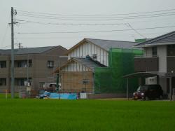 倉敷外壁下地