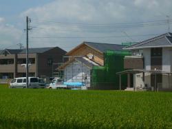 倉敷外壁下地2