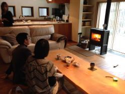田中邸訪問