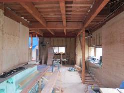 川口の家 下地工事